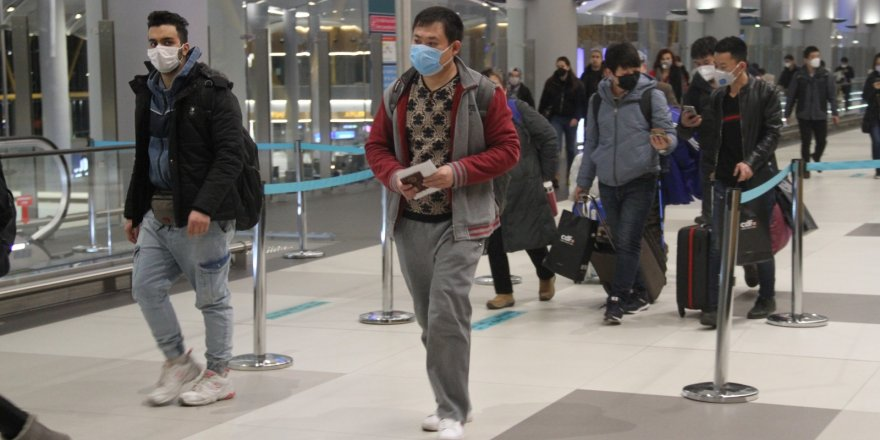 THY Çin'den son yolcularını İstanbul'a taşıdı