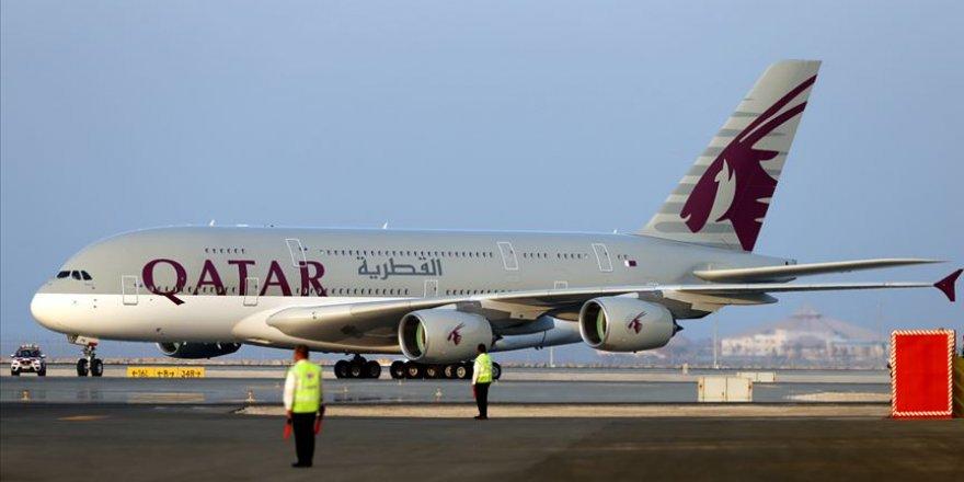 Katar Havayolları Çin'e uçuşları askıya aldı