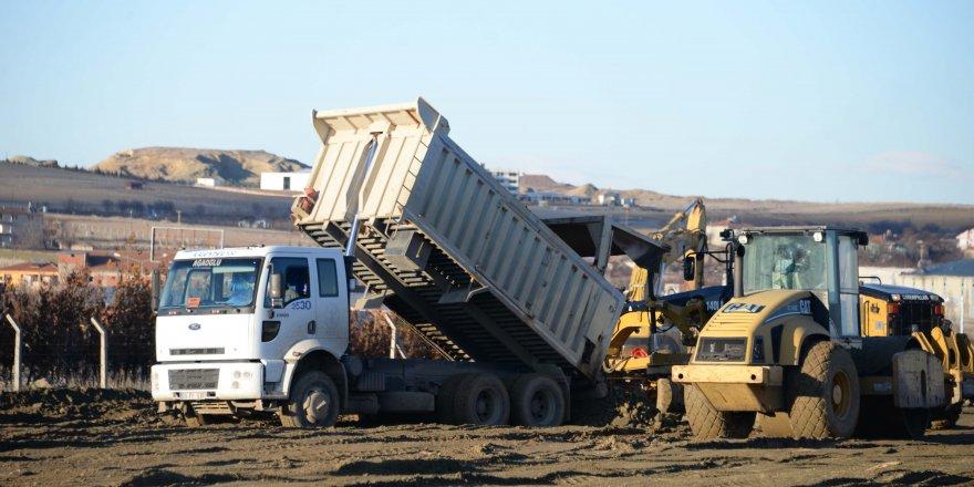 Depremzedeler için bin kapasiteli konteyner kent