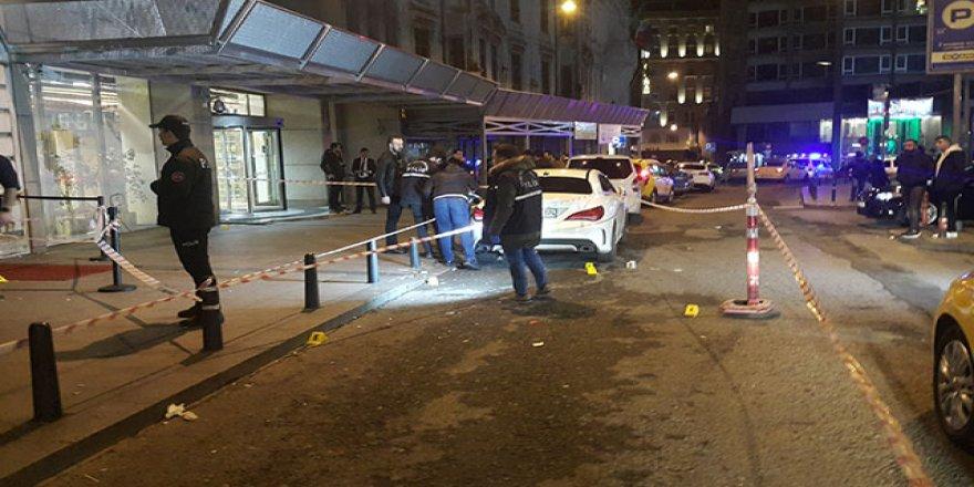 Gece kulübü önünde silahlı saldırı