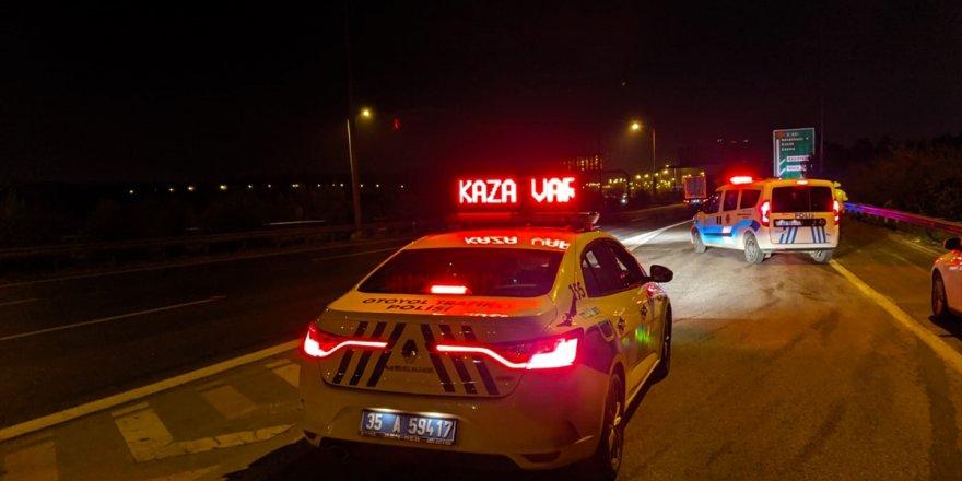 İzmir'de 1 kişi kazada öldü
