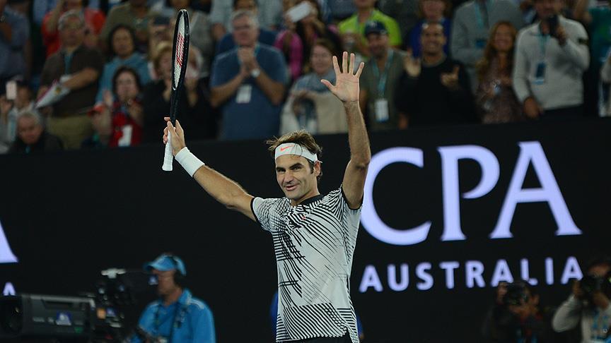 Avustralya Açık'ta şampiyon Federer