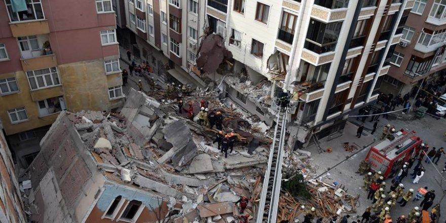 Bahçelievler'de çöken binanın ardından şok gerçek ortaya çıktı!