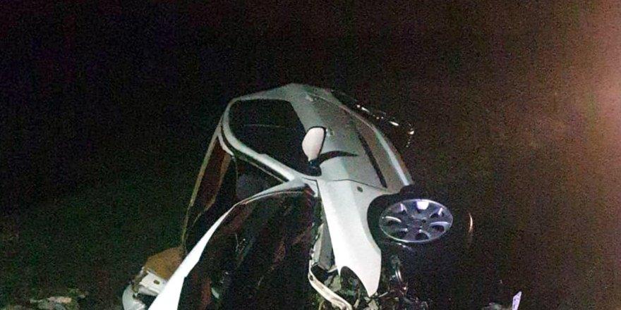 Tekirdağ'da su kanalına düşen otomobildeki 2 kişi öldü