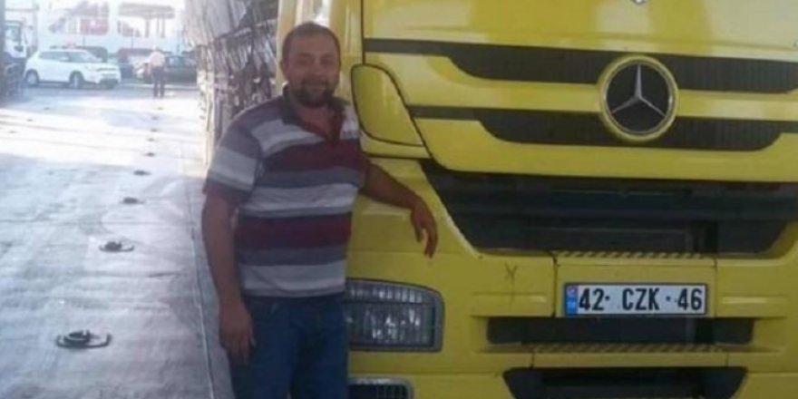 Bir yoksulluk intiharı daha: Kendisini kamyonuna astı!