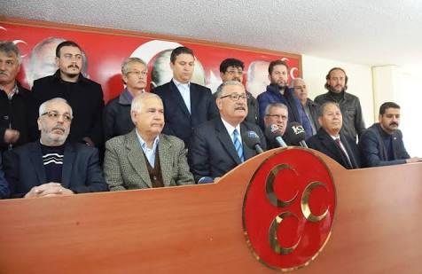 MHP Mersin İl Başkanı Kılıç ve yönetimi görevden alındı