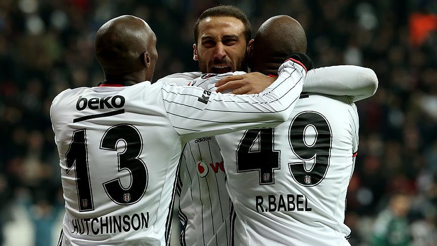 Beşiktaş'tan muhteşem zafer