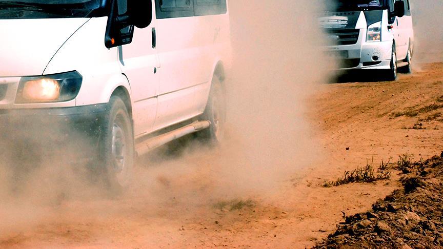 Minibüslerle terör örgütü YPG'ye katılmışlar