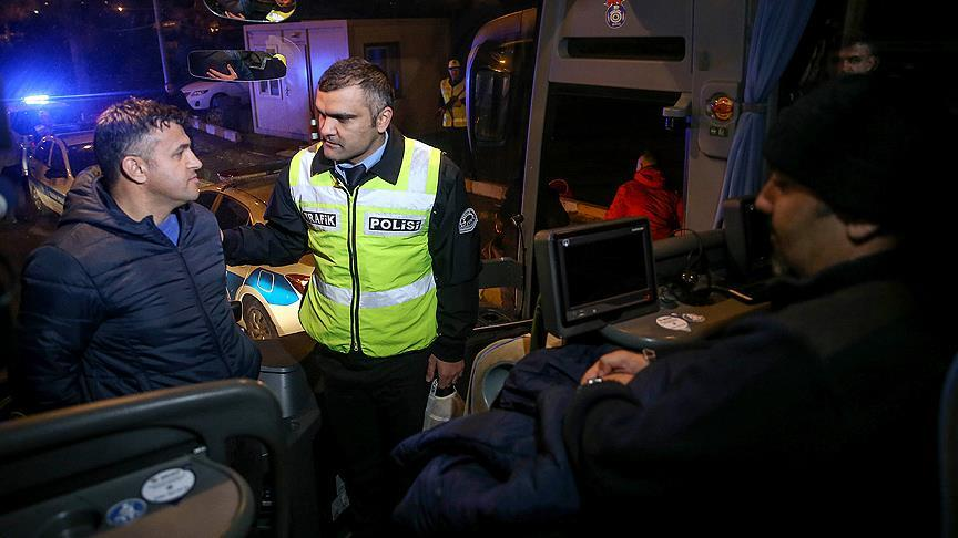 Yolcu otobüslerinde sivil denetim başladı