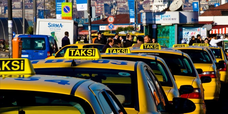 Taksilere yasak geliyor!