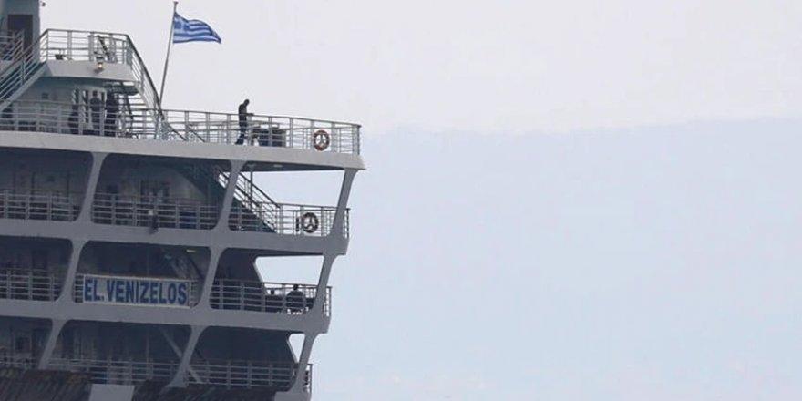 Yunan yolcu gemisi karantinaya alındı: İçinde Türk yolcular da var...