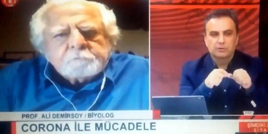 Halk Tv canlı yayınında Prof. Dr. Ali Demirsoy'dan şok sözler
