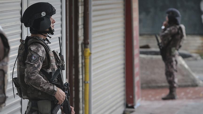 IŞİD operasyonu 820 gözaltı