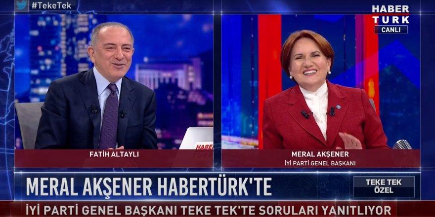 Meral Akşener'i kahkahalarla güldüren soru