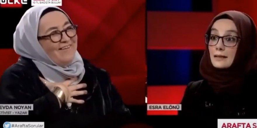 Canlı yayında ölüm listesi hazırlayan Sevda Noyan için RTÜK'ten karar