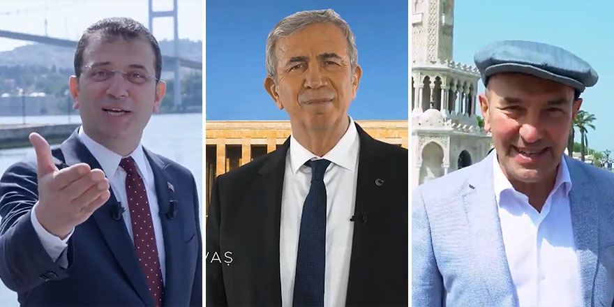 """CHP'li başkanlar bir videoda buluştu: """"Bir tanesin Türkiyem"""""""