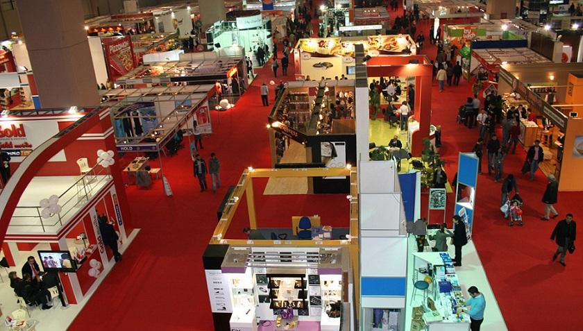 Türkiye'de en çok fuar  İstanbul'da açıldı