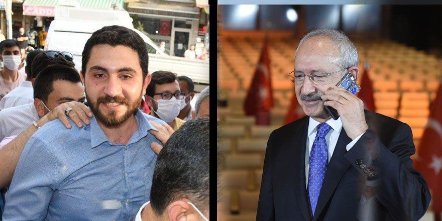 Kılıçdaroğlu'ndan tahliye edilen Eren Yıldırım'a telefon