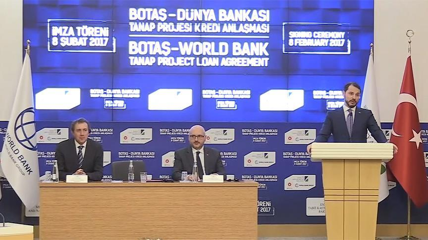 TANAP için kredi anlaşması imzalandı