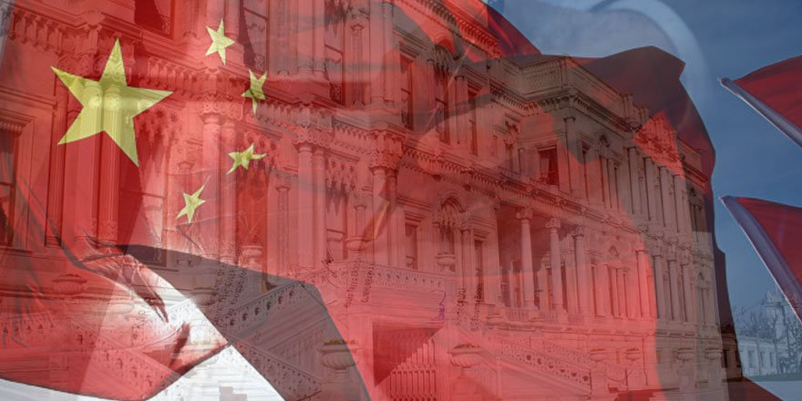 Çin'in Ankara Büyükelçiliği'nden Çırağan'daki resepsiyonda skandal broşür