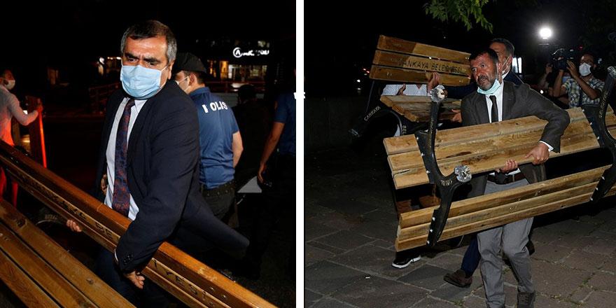 Ankara'da gece yarısı bank operasyonu: Polis engelledi, CHP'li vekiller araya girdi