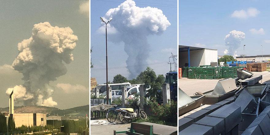 Sakarya'daki patlamanın ardından korkutan uyarı: Havada yüksek oranda...