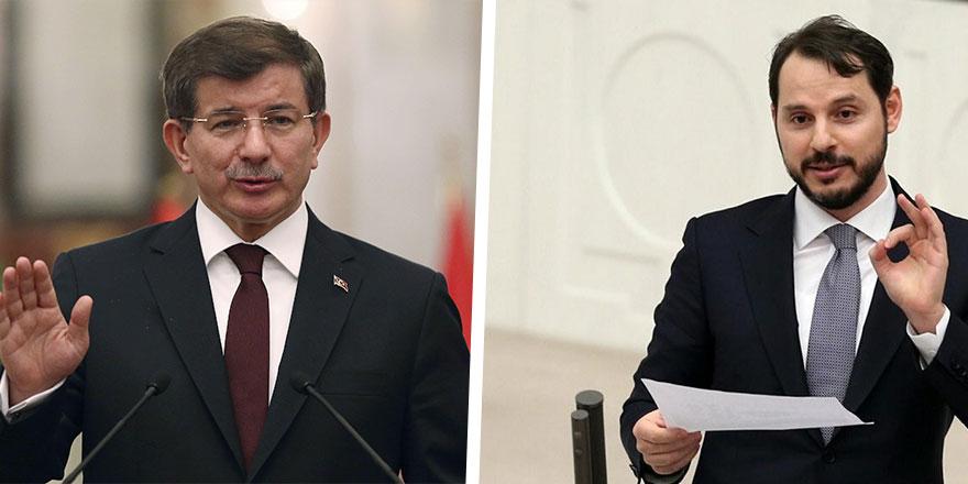 """Davutoğlu'ndan Bakan Albayrak'a gönderme: """"Görevimiz bakanı korumak değil..."""""""