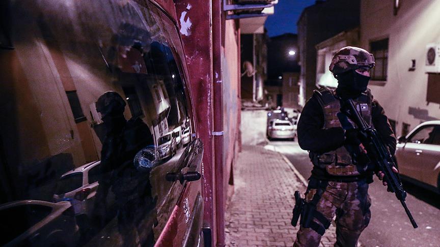 Terör operasyonları: 520 gözaltı