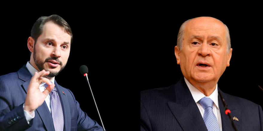 Devlet Bahçeli'nin ardından o partinin liderinden de Berat Albayrak'a dikkat çeken destek