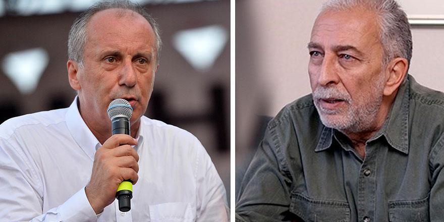 """Emin Çölaşan'dan Muharrem İnce'ye olay sözler: """"CHP'nin içine sürülmüş olan..."""""""